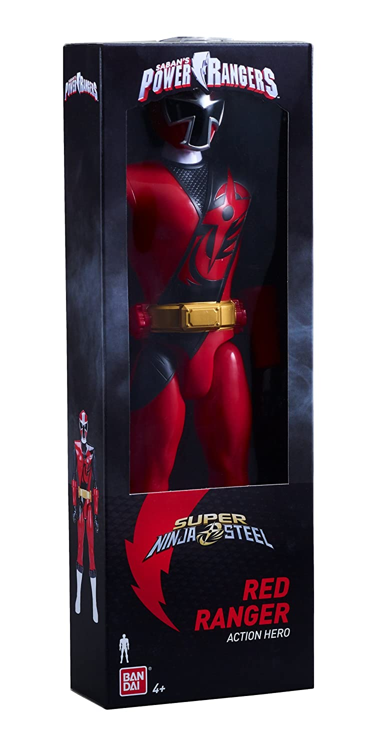 Power Rangers Super Ninja Steel 12-inch Action Figure Red Ranger Bandai America Incorporated 43971