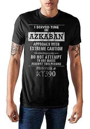 Amazon.com  Harry Potter I Served Time in Azkaban Men s T-Shirt ... 2ff559957b4d