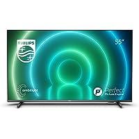Philips 55PUS7906 / 12 Android TV LED 55 Pulgadas, Smart TV 4K con Ambilight, Imagen HDR Vibrante, Visión Dolby…