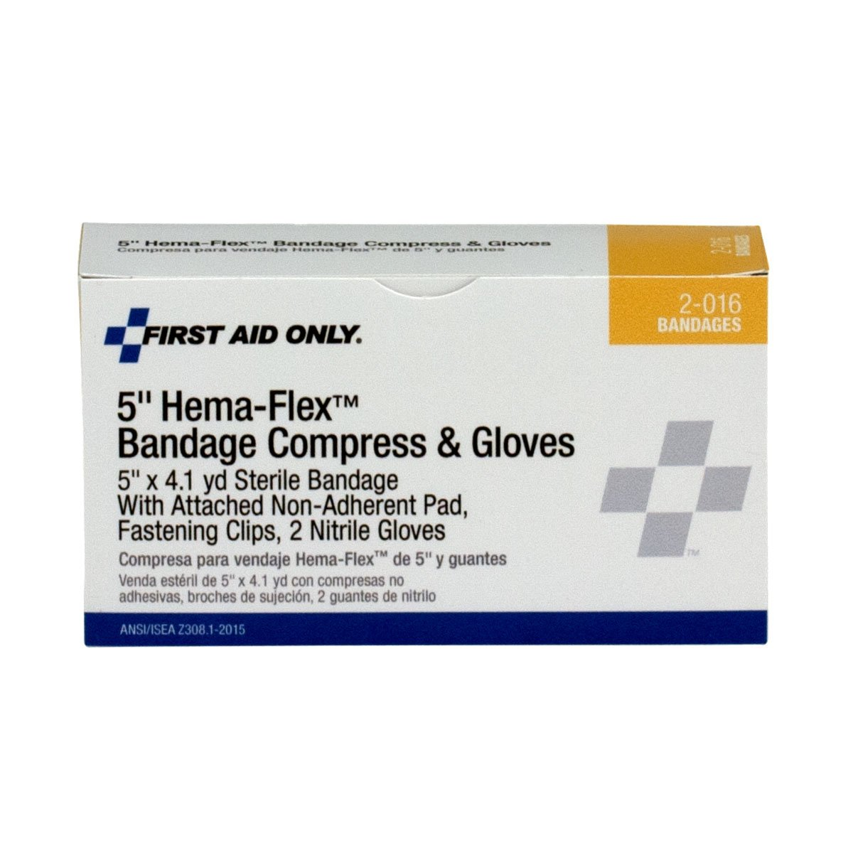 Pac-Kit by First Aid Only 2-016 6 Piece Hema-Flex Large Wound Compress Kit