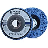 "BHA Easy Strip Discs Clean and Remove Paint, Rust and Oxidation 4-1/2"" x 7/8"" - 5 Pack"