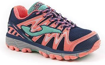Joma - Zapatillas para Correr en montaña de Material Sintético para niño Rosa Rosa Rosa Size: 31: Amazon.es: Zapatos y complementos