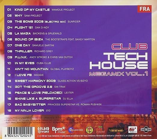 Club Tech House Megamix Vol. 1(韓国盤) - Amazon.com Music
