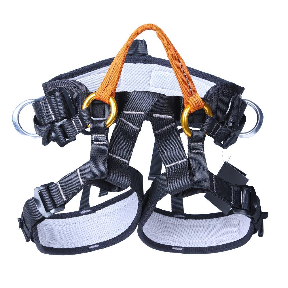(ジリオンライン) Jili Online 保護ハーネス 安全シッティングシートバストベルト機器 ロッククライミング ツリーアーボリスト 登山   B06WW2HKTQ
