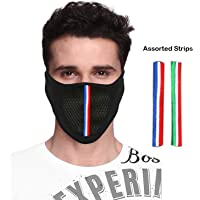 Kallpp Fashions MS5A3006BK1XXCT Bike Riding and Cycling Anti Pollution Dust Sun Protection Half Ninja Face Cover Mask, (Black)