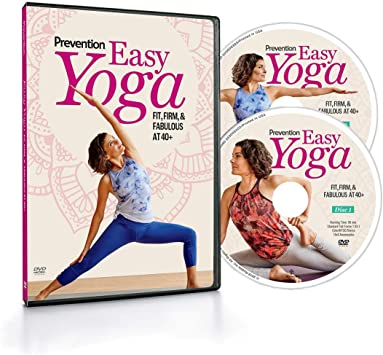 Amazon.com : Prevention Easy Yoga: Fit, Firm, Fabulous at 40 ...