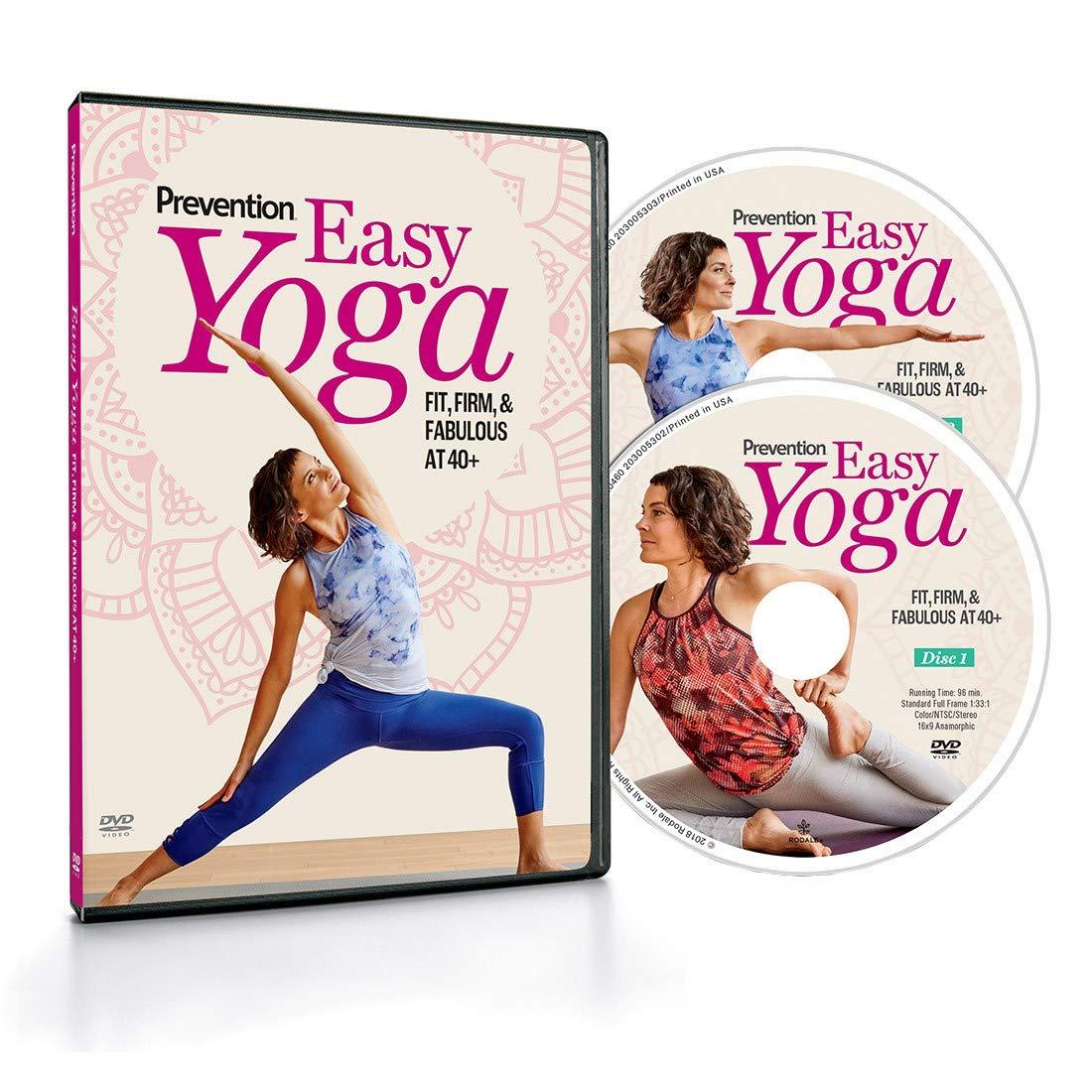 Prevención Easy Yoga: Ajuste Firme, Fabuloso a 40+ DVD ...
