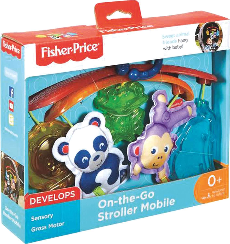 Fisher-Price Móvil mascotas de paseo, móvil para bebé (Mattel DYW54): Amazon.es: Bebé