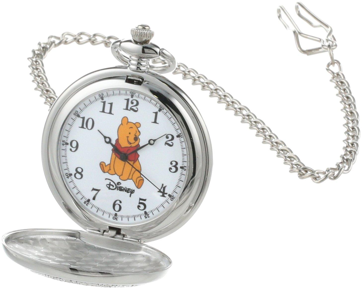 Disney Men's W000460 Winnie the Pooh Pocket Watch