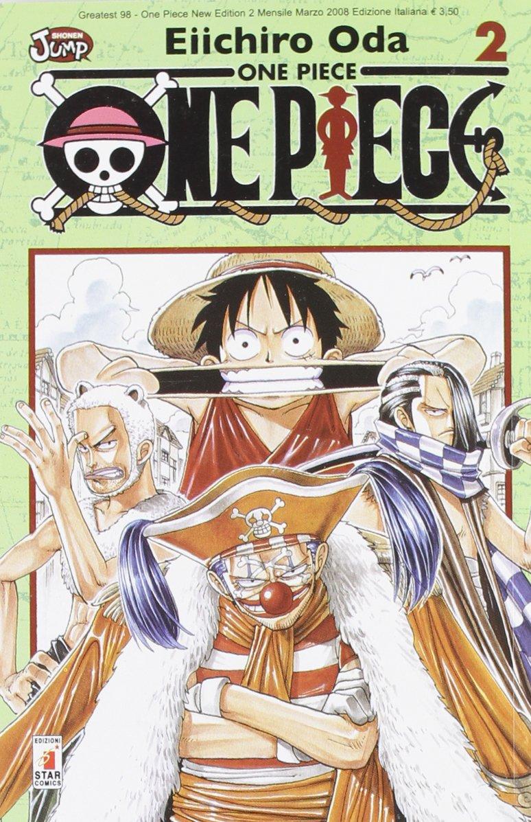 One piece. New edition: 2 Copertina flessibile – 20 mar 2008 Eiichiro Oda E. Martini Star Comics 8864201882