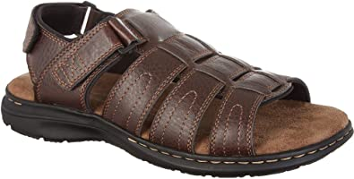 451ea2ef52e1 Boca Classics Mens Bristol Sandals 7 Brown