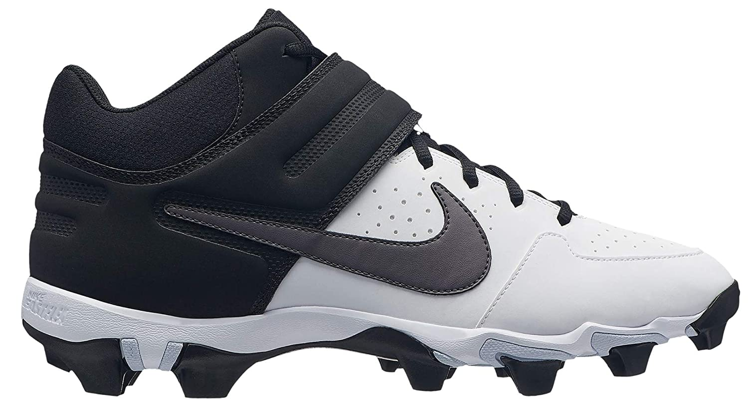 Amazon.com | Nike Mens Alpha Huarache Varsity Keystone Mid Baseball Cleats | Basketball