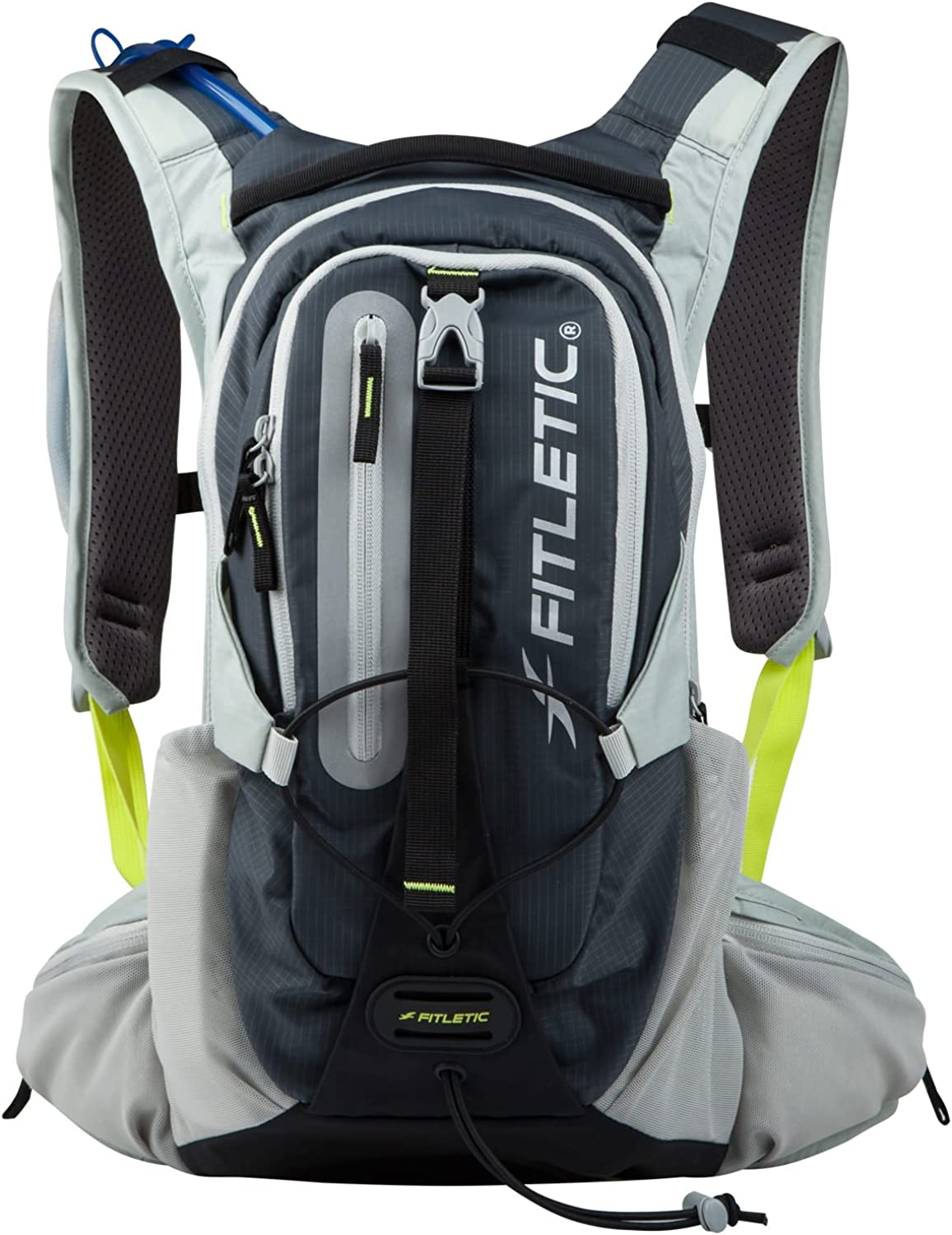 Fitletic Hydration Backpack 11L Pack for Running, Trail, Hiking, Cycling, Mountain Biking, Ultra Marathon, or Travel Journey JRNBL