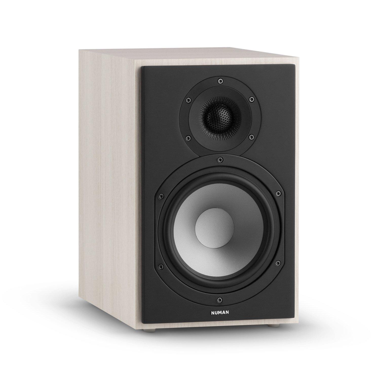 NUMAN Reference 802 /• Regal-Lautsprecher /• Lautsprecher-Boxen /• HiFi-Boxen /• Lautsprecher-Paar /• high-end Boxen /• 2-Wege-System /• Spitzenleistung 120 Watt /• Impedanz 4 Ohm /• schwarz