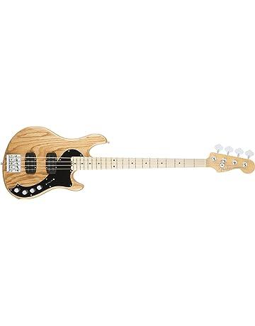 Fender 0192902706 American Elite Dimensión graves IV HH Arce Diapasón Guitarra eléctrica – black-p