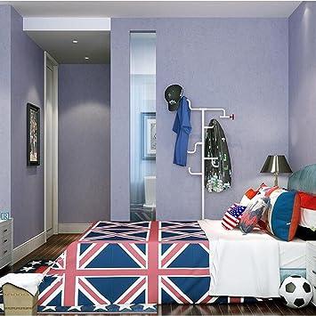 MI RAN H Vert Clair Violet Jaune Bleu Papier Peint Intissé Salon Chambre à  Coucher