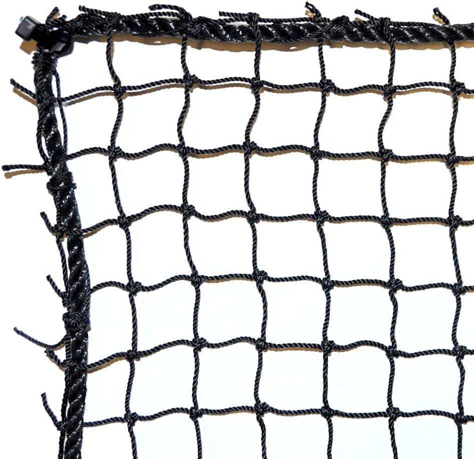 Just For Nets JFN Nylon Golf Practice Barrier Net, Black