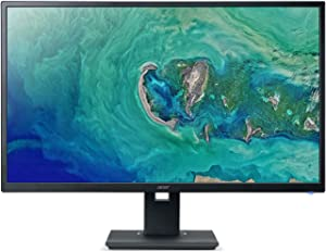 "Acer ET322QU Abmiprx 31.5"" WQHD (2560 x 1440) IPS Monitor with AMD FREESYNC Technology (Display Port, HDMI 1.4 Port & VGA Port)"