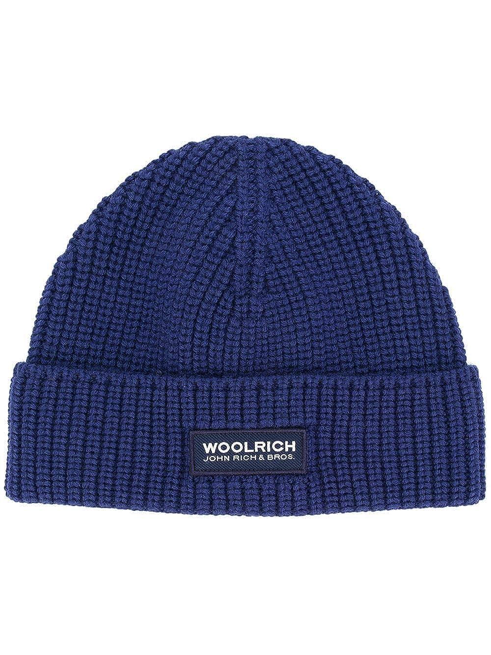 Woolrich Cappello Uomo WOACC1532AC223667 Lana Blu
