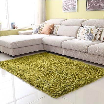 Junovo Ultra Soft Contemporary Fluffy Indoor Area Rug For Home Decor Living  Room Bedroom Kitchen Dormitory