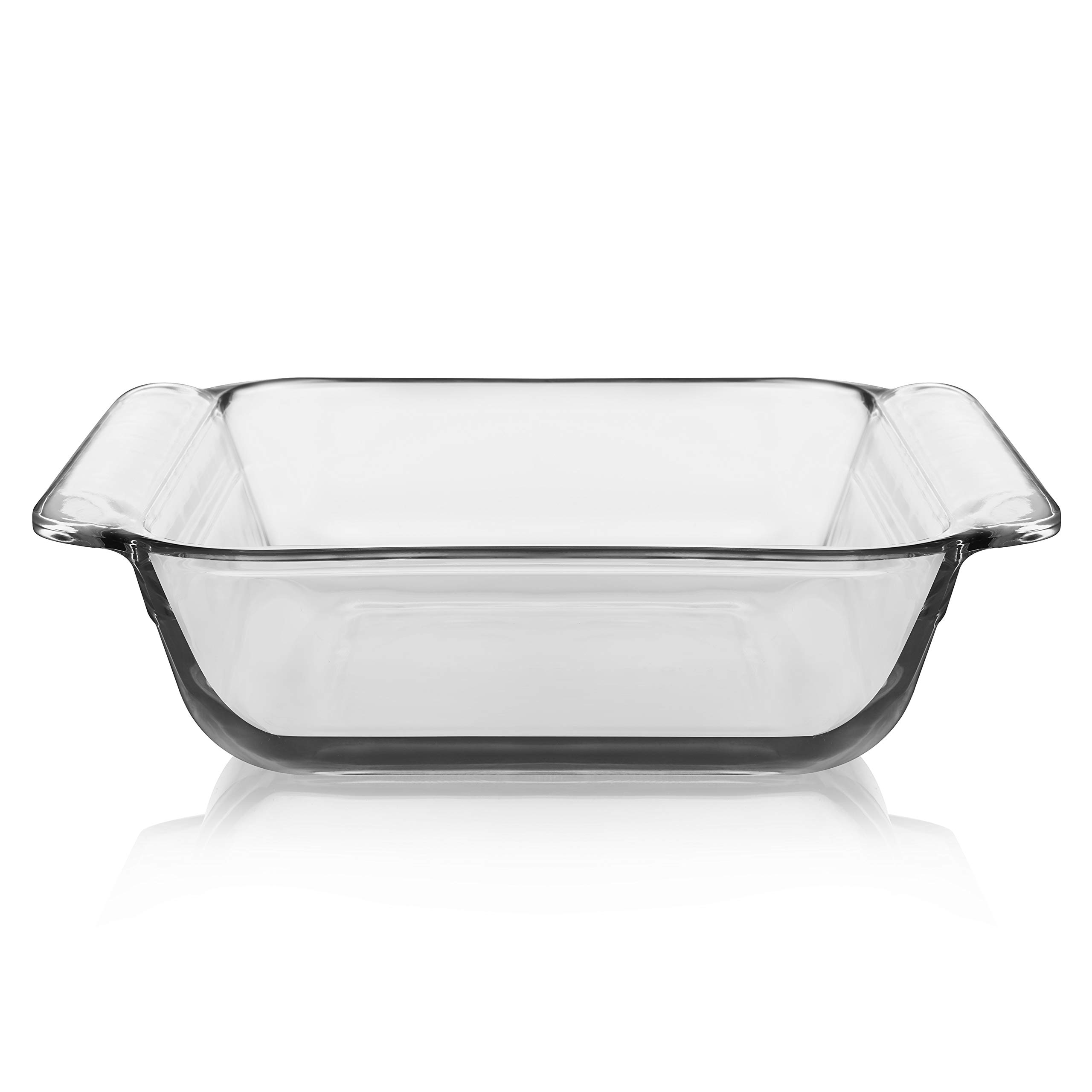 Libbey Baker's Premium 6-Piece Glass Casserole Baking Dish Set with 2 Covers by Libbey (Image #3)