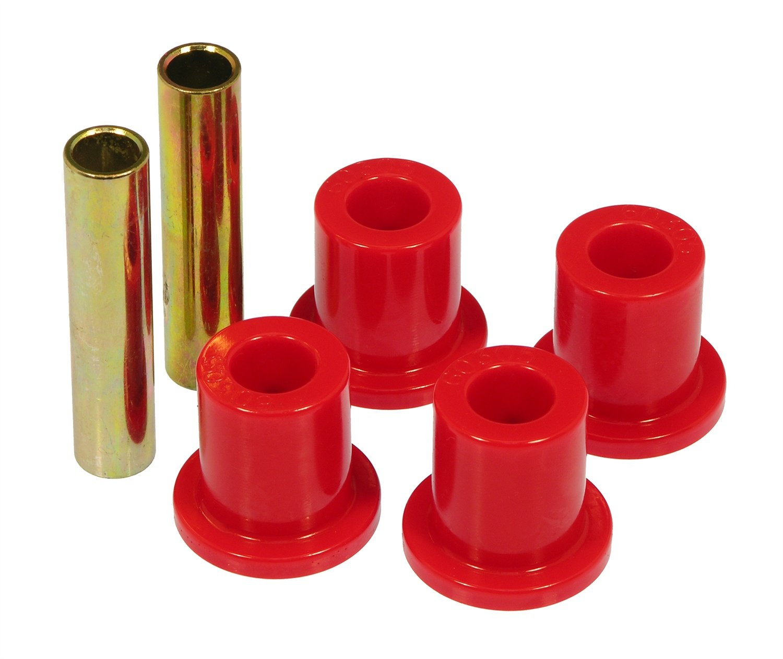 Prothane 6-806 Red Rear Frame Shackle Bushing Kit