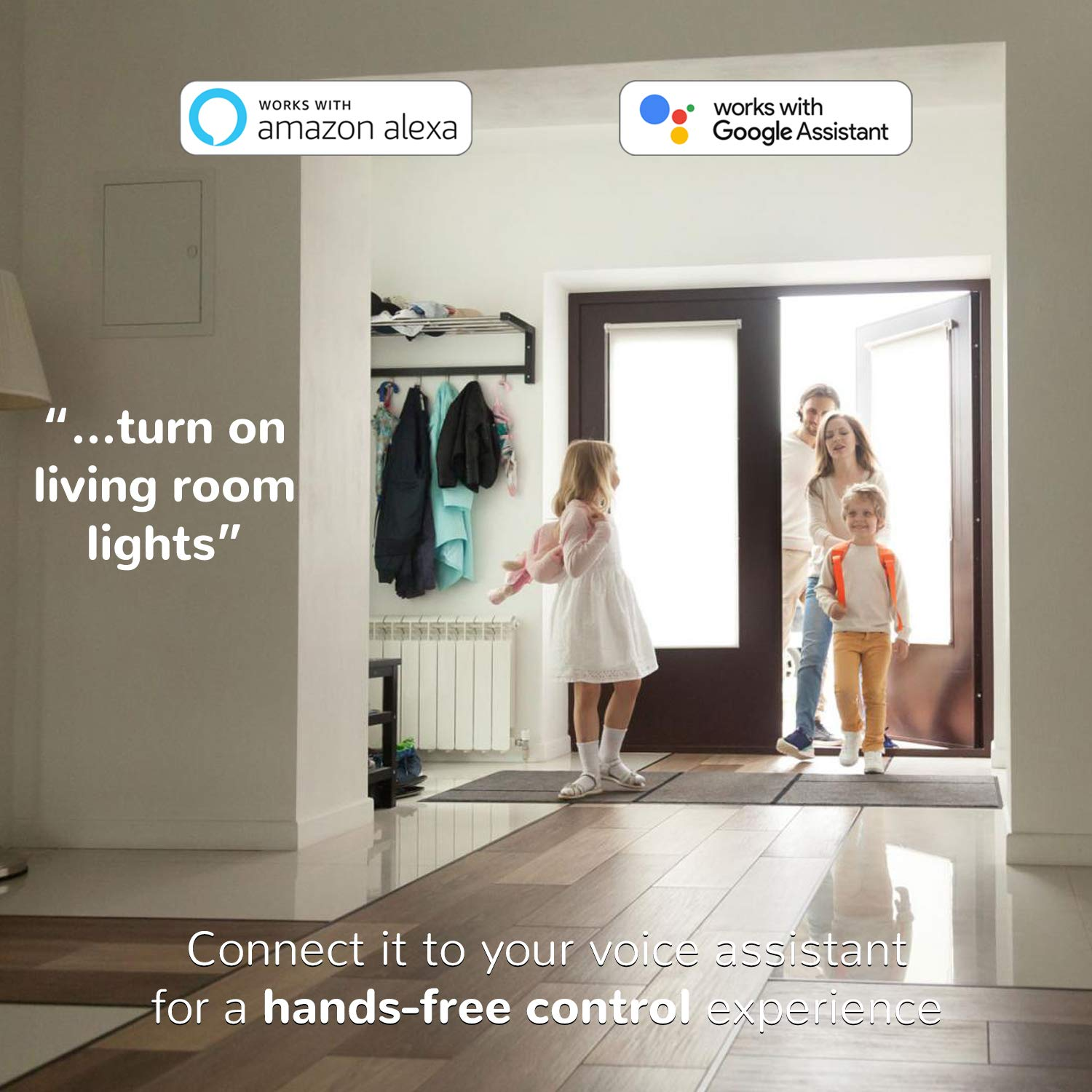 and Google Assistant Hub Required 4 Pack SmartThings Wink Sylvania Smart+ BR30 LED Zigbee Bulb Dimmable Compatible with Alexa Adjustable White and Color Changing Light Bulb