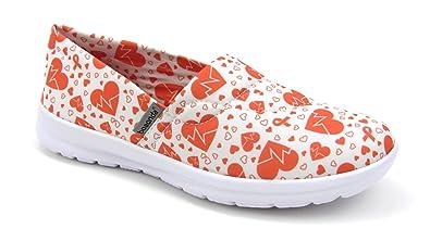 42cf45e6b5b0 Amazon.com  Women s Cute Lightweight Nursing Shoes - Memory Foam ...