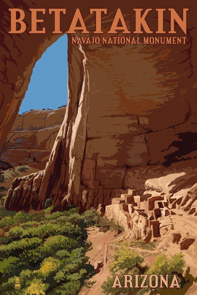 Betatakin National Monument , Arizona 36 x 54 Giclee Print LANT-54833-36x54 B017E9V396  36 x 54 Giclee Print
