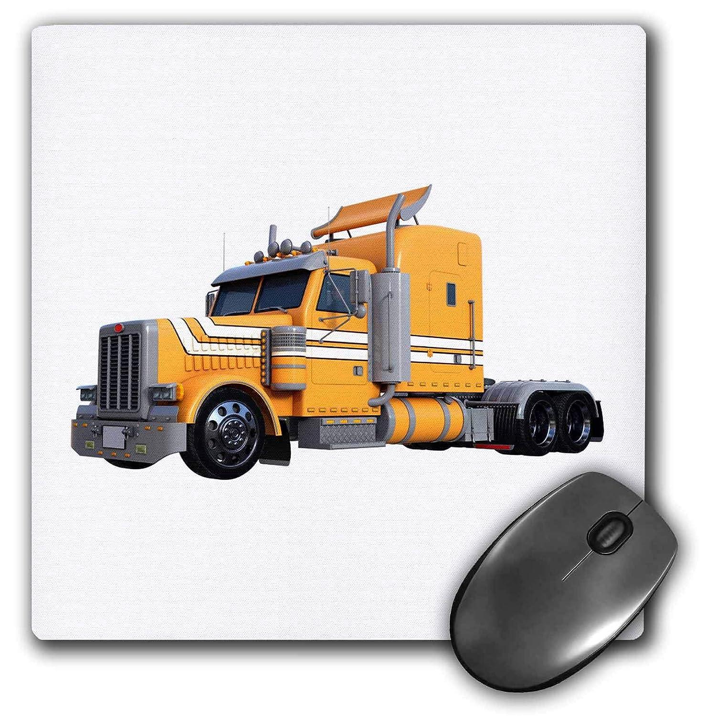 9987346fe4 Amazon.com  3dRose Boehm Graphics Trucking - Orange Semi Truck in Three  Quarter View - Mousepad (mp 255229 1)  Electronics