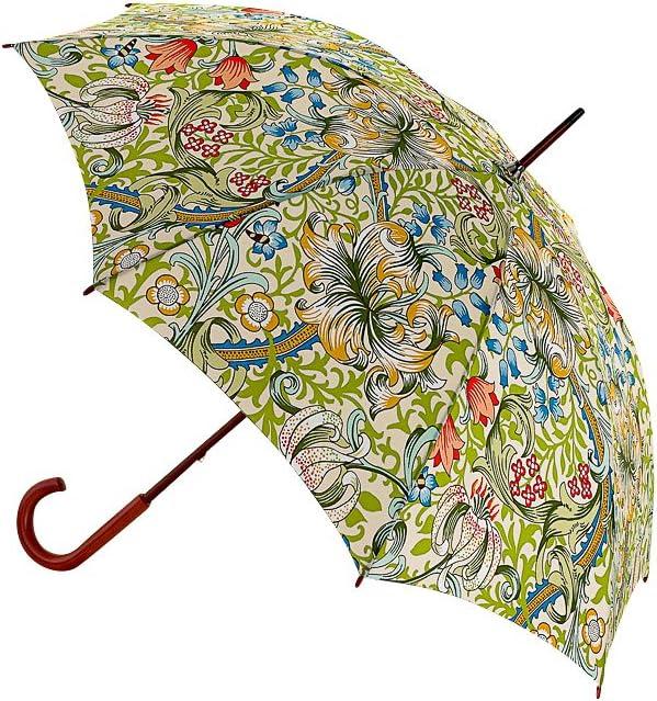 Mehrfarbig Golden Lily 1 liters Fulton Morris /& Co Kensington 2 Regenschirm 88 cm