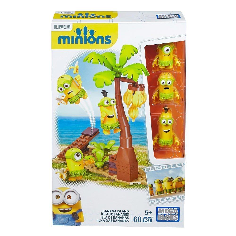 Mega Bloks, Minions Movie, Banana Island Building Set by Minions Movie