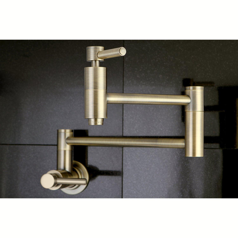 Amazon.com: Elements of Design ES8103DL South Beach Wall Mount Pot ...