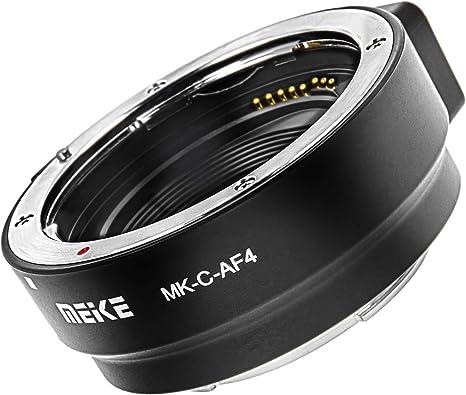 Anillo Adaptador de Canon EF y EF-S a EOS M – Meike C de af4 ...