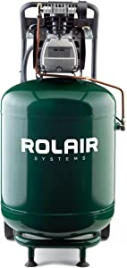 Rolair FC250090L 2 HP Wheeled Compressor with Overload Protection and Manual Reset