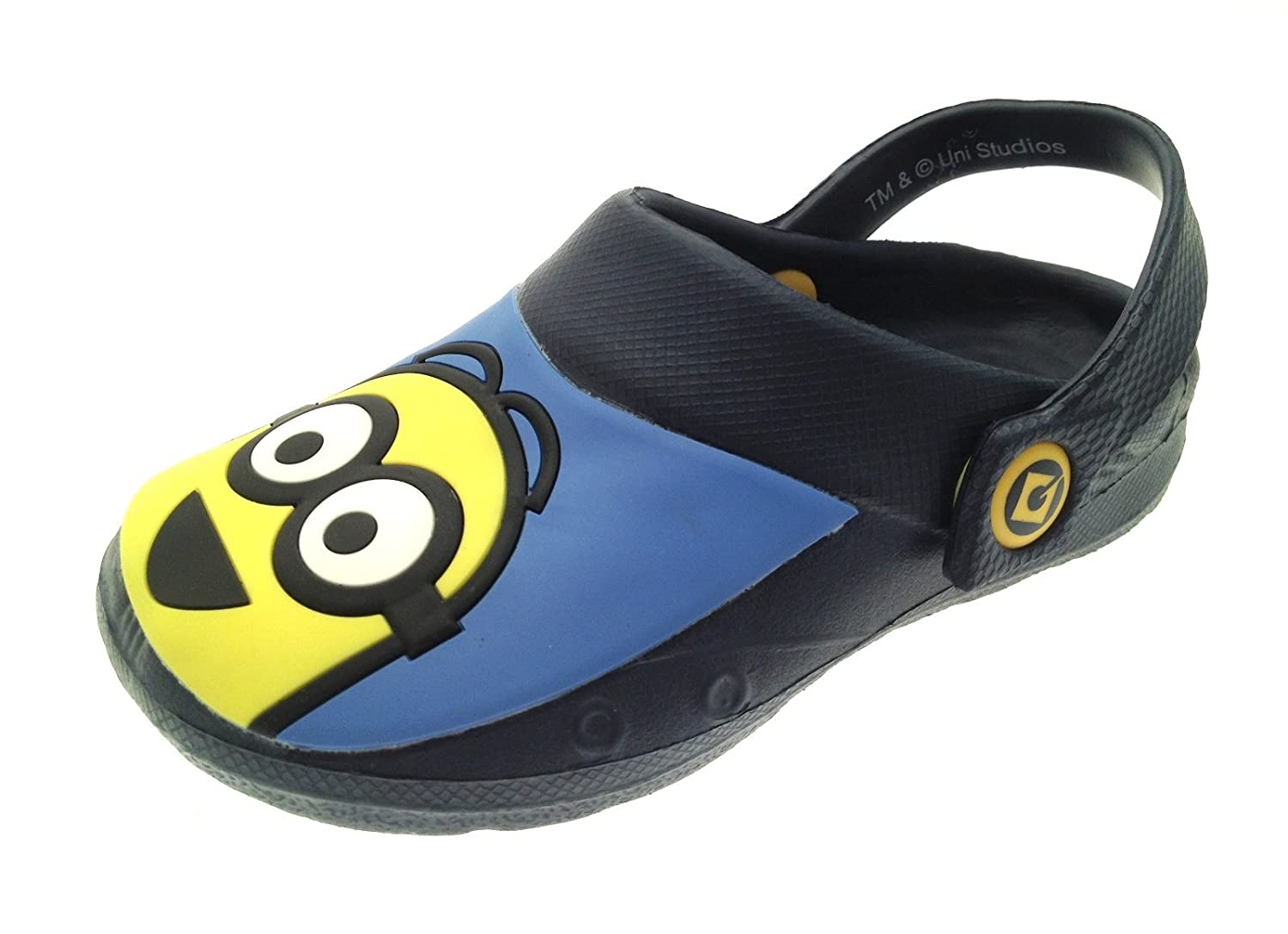 Despicable Me Minions Boys Clog Sandals Shoe Directory