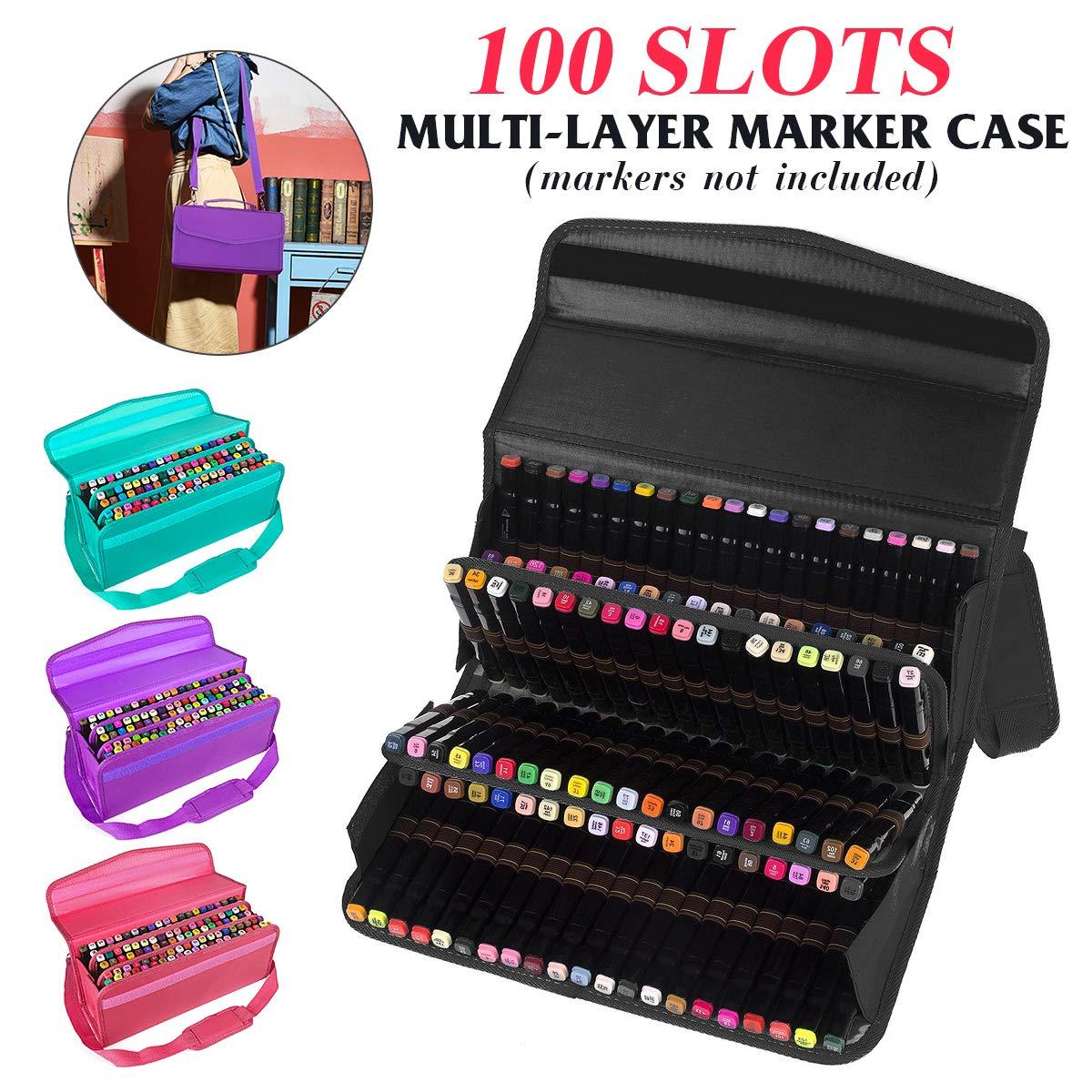 Bolsas para lápices | 100 agujeros para rotuladores estuche ...