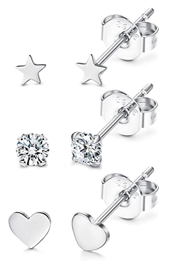 Ohrstecker,925er Silber,verschiedene Designs