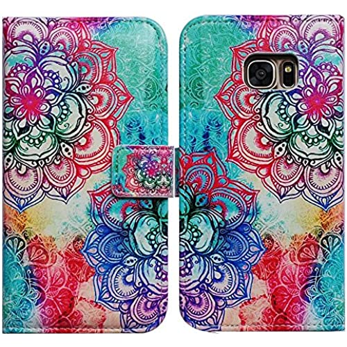Bfun Packing Bcov Mandala Pattern Card Slot Wallet Leather Cover Case For Samsung Galaxy S7 Sales