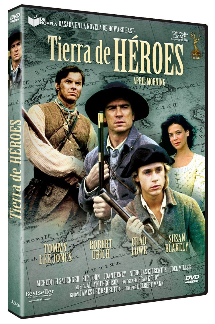 Tierra de heroes [DVD]: Amazon.es: Tommy Lee Jones, Robert Urich, Chad Lowe, Susan Blakely, Meredith Salenger, Rip Torn, Delbert Mann: Cine y Series TV