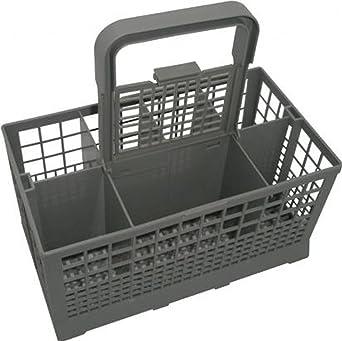 Vicky World - Cesta para cubiertos para lavavajillas