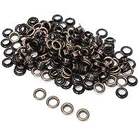 Tule Kit Ronde Gat Klinknagels Metalen Oogjes Klinknagels Messing Oogje 100 Sets 8mm voor Schoenen Tas Kleding…