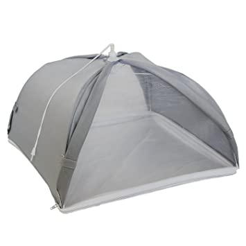 Kitchiker Large Pop Up Mesh Screen Food Cover Umbrella Tent with Zippered Bottom (Wonu0027  sc 1 st  Amazon.com & Amazon.com | Kitchiker Large Pop Up Mesh Screen Food Cover ...