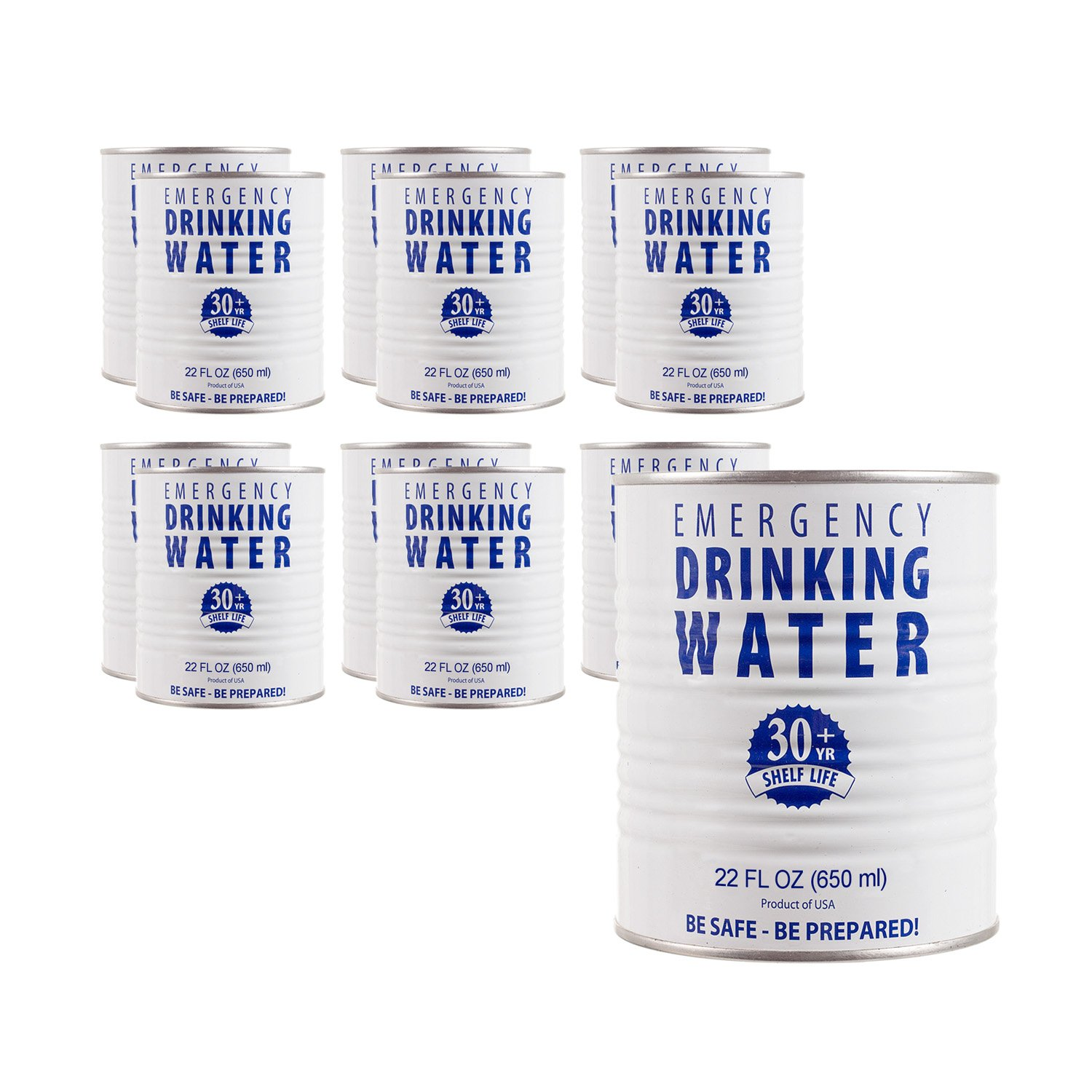 Purifying Drinking Water Amazoncom Case Of Canned Drinking Water 12 Cans Sports Outdoors