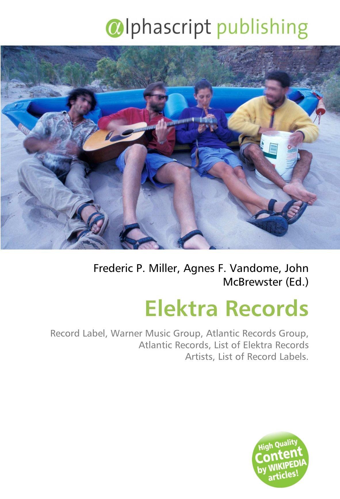 Amazon fr - Elektra Records: Record Label, Warner Music