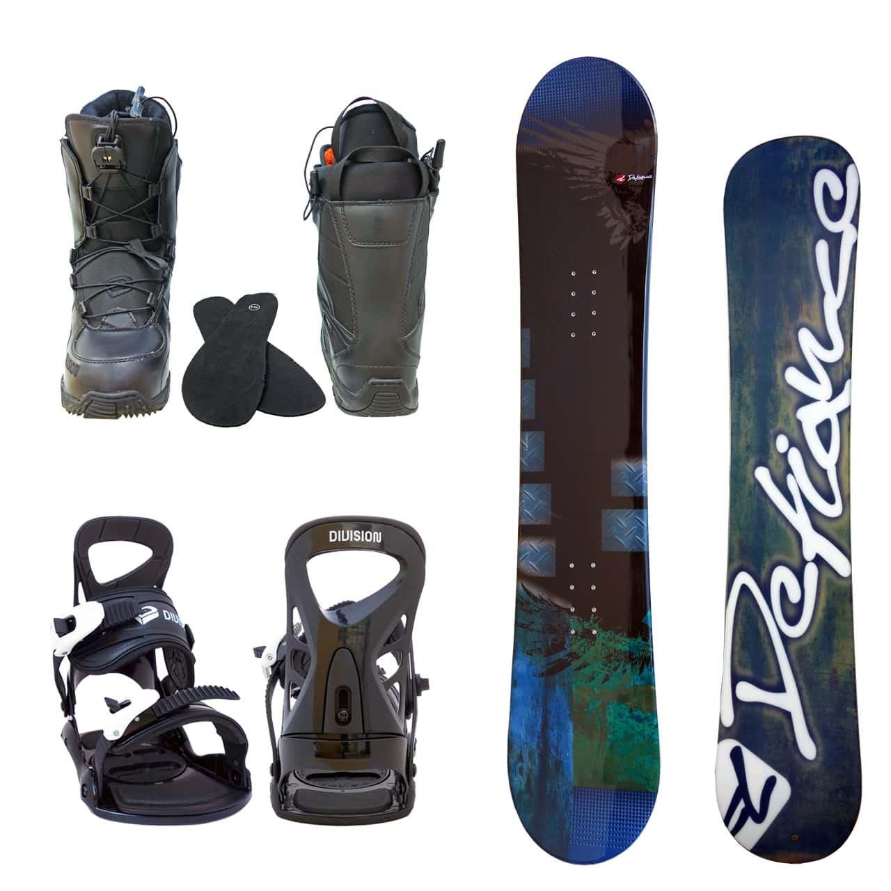 メンズ スノーボード3点セット スノボー+バインディング+クイックシューレースブーツ B078ZTHH9M ボード 152+ブーツ 26.0|ボード ブルー+binding ブラック+bootsブラック ボード ブルー+binding ブラック+bootsブラック ボード 152+ブーツ 26.0