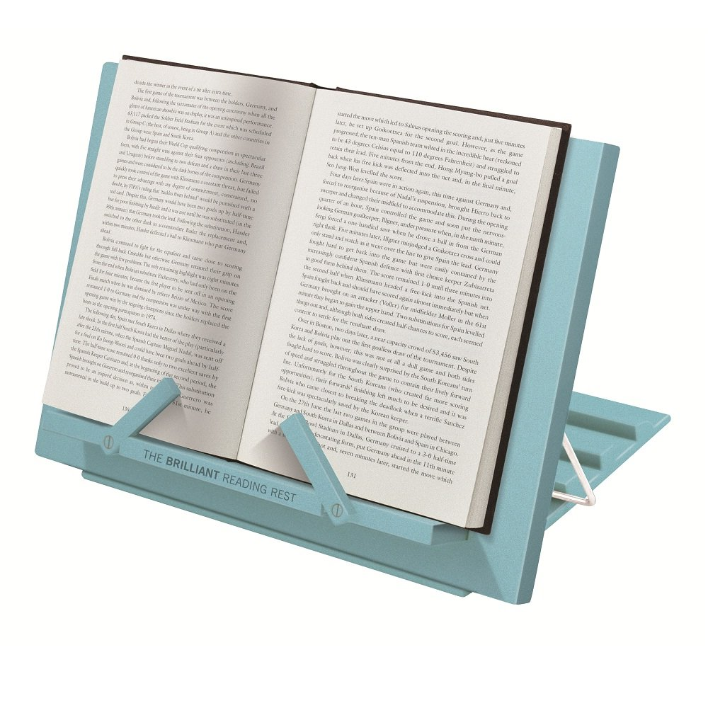 1 Einheiten 24 x 34 x 3 cm Plastik Blau That called If Brilliant Reading Rest