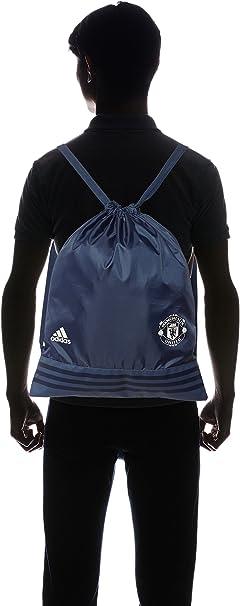 Bolsa adidas Gymsack Manchester United 2016-2017 Mineral blue-Chalk white
