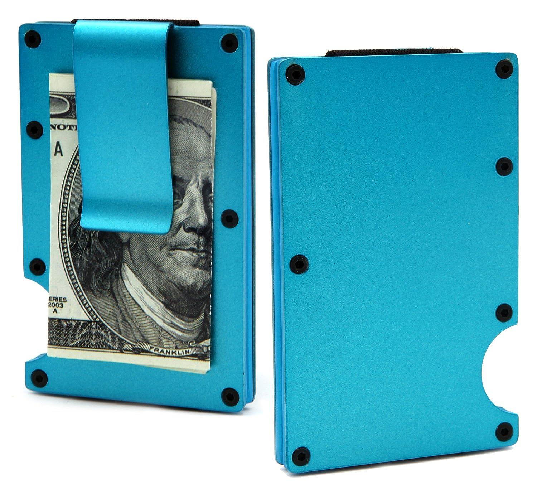 1c820374d4e5 Minimalist Carbon Fibre Slim Wallet, Slim Wallet & RFID Blocking Front  Pocket Wallet - Minimalist Wallet for Men And Women - 2018 New Version