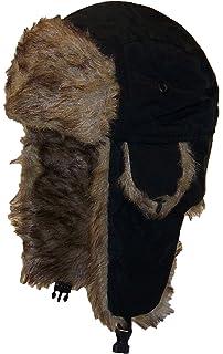 Best Winter Hats Adult Nylon Russian Trapper W Soft Faux Fur Beanie ... 2f0e2c187c86